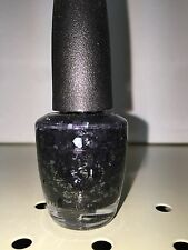 OPI ~ NAIL LACQUER HOLIDAY COLLECTION ~ SO ELEGANT ~ (.5 oz) Black & Chrome ~NEW
