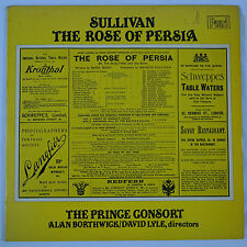 Sullivan: The Rose of Persia/The Prince Consort Borthwick & Lyle UK Pearl 2LP NM