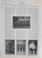 1900 Estampado Perdón De Arabi Pasha Exhile En Ceilán ~ Preso En Colombo