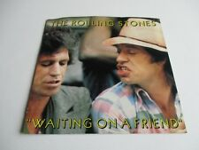 "The Rolling Stones Waiting On A Friend/Little T& Vinyl 7"" 45 RPM Single 1981 NEW"