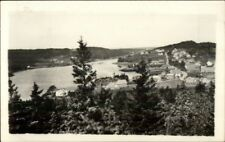 Cutler ME General View c1940s Real Photo Postcard #2