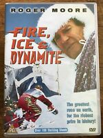 Fire Ice and Dynamite DVD 1990 Action Thriller Movie with Roger Moore