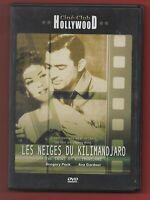 DVD - Les Frozen Del Kilimanjaro con Gregory Peck Et Ava Gardner