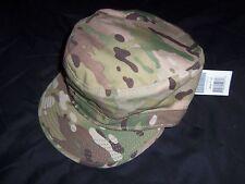 PATROL CAP MULTICAM HAT size 7 TAG GENUINE MADE USA MILITARY ISSUE Sam Bonk Co.