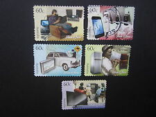 Australian Decimal Stamps:2012 Then and Now P&S Used