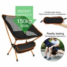 New Travel Ultralight Folding Chair Hard Portable High Load Outdoor Camping Seat