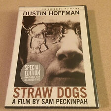Straw Dogs DVD Criterion Collection Hoffman Out Of Print Sealed New