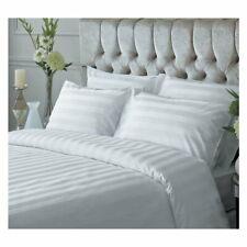 EllaTex Hotelbettwäsche Damast Streifen Bettwäsche Bettgarnitur 95° Kissenbezug