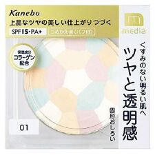 "From JAPAN Kanebo media Bright up Powder SPF15 PA+ ""With case"" / Color 01 clear"