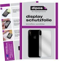2+2x Apple iPhone 8 Rueckseite Protector de Pantalla protectores transparente