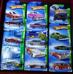 Lot Of 9 Hot Wheels Treasure Hunts Enz0 Ferrari SHORT CARD BONE SHAKER