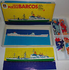 GRAN PUZZLE BARCOS DISET / 4 PUZZLES 60P. NAVIRES / VINTAGE - MADE IN SPAIN
