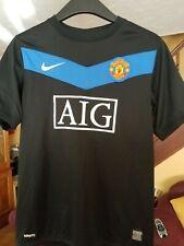 Kids Manchester United 2009-10 Away Football Shirt Size Large Boys 12-13 Yrs