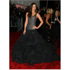 Kate Beckinsale in Black Sparkly Dress on Red Carpet 8 x 10 inch photo