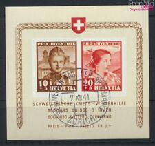 Schweiz Block6 (kompl.Ausg.) gestempelt 1941 Kriegs-Winterhilfe (9045611