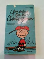 1973 You Asked For It Charlie Brown by Charles M Schulz Fawcett Paperback