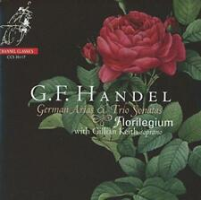 Florilegium Gillian Keith - Handel: German Arias And Trio Sonatas (NEW CD)