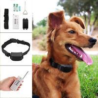 Collar Antiladridos Vibración + Control Remoto para Adiestramiento de Perros