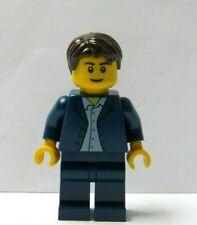 Lego Wedding Minifigure Groom Blue Suit Brown Hair Best Man Father Of Bride