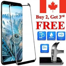 Curved tempered Glass Screen Protector For Samsung Galaxy S20 S10 S9 S8 Plus A5