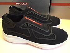 Neu Prada Sneaker UK 9,5 / EU 43,5 Schwarz