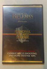 American Rifleman Video Collection Personal Firearm Defense DVD, home defense,