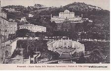 # FRASCATI: NUOVA SCALEA DELLA STAZIONE FERROVIARIA - VEDUTA DI VILLA ALDOBRANDI