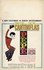 PEPE Movie POSTER 27x40 B Cantinflas Dan Dailey Shirley Jones Carlos Montalb n