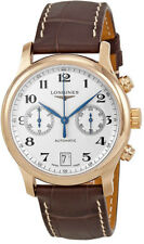 L2.669.8.78.3   BRAND NEW LONGINES MASTER COLLECTION CHRONOGRAPH GOLD MENS WATCH