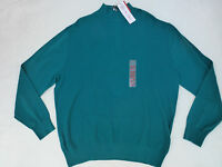 NWT MENS BEN HOGAN 1/4 ZIP PULLOVER SWEATER $70 EVERGLADE GREEN BGGF5084ST