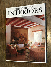 The World of Interiors magazine March 1996