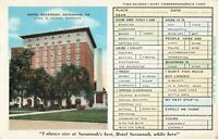 Postcard Hotel Savannah Georgia