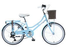 "Viking Belgravia Girls Traditional Heritage 20"" Wheel 6 Speed Bike Blue"