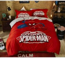 Ultimate Spiderman Queen Bed Quilt Cover Set