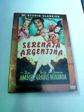 "DVD ""SERENATA ARGENTINA"" PRECINTADO SEALED IRVING CUMMINGS DON AMECHE CARMEN MIR"