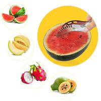 Praktische Edelstahl Wassermelonenschneider Obstmesser Cutter Ice Cream BalRS,j