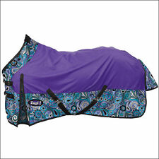 "Tough-1 1200D Waterproof Poly Turnout Sheet - Paisley Shimmer Print - 75"" - NEW"