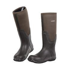 HISEA Men Rubber Neoprene Rain Boots Insulated Breathable Mud Muck Hunting Boot