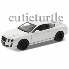Welly Bentley Continental Super Sports 1:24 Diecast Model Car 24018 White