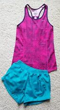 Nike Dri-Fit Tennis Running Athletic Shorts/Tank Top Shirt Womens Sz Xs Lot of 2