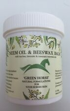 Green Horse Neem Oil & Beeswax Balm with Tea Tree Lavender & Rosemary