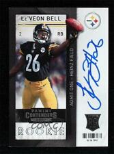 2013 Panini Contenders Le'Veon Bell #221 Rookie Auto RC