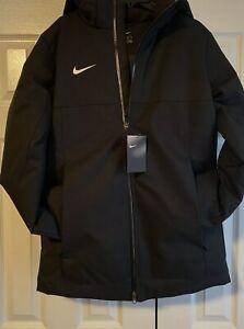 Nike Team Down Fill Parka 915036 010 man black jacket sz XS Brand New $240