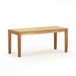 Patio Sense 63367 Kingsmen Sofa Table Natural