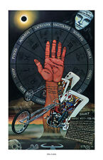 Dave Mann ed Roth Studios Stampato Poster Motocicletta Moto Zodiaco Chopper