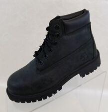 "Timberland Boots Little Kids Waterproof 6"" Premium Black Leather Size 1.5 NEW"