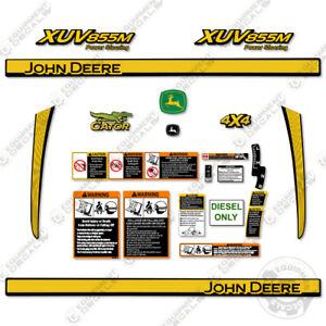 John Deere XUV855M Decal Kit Utility Vehicle Gator Decals