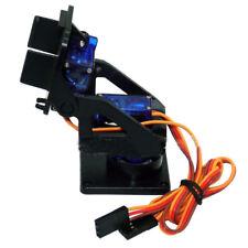 For RC Robot Car 2 Axis Servo Gimbal FPV PTZ Mount Bracket w/ 2Pcs 9G Servo Kits