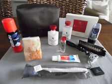 Emirates Business Class BVLGARI Gent's amenity KIT TROUSSE NECESER Cultura Sacchetto
