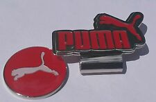 Brand New Red and White Puma Golf Ball marker with hat clip!!